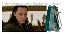 """""""Imagine Helping Loki to Escape From Asgard"""" by fandomimagineshere ❤ liked on Polyvore featuring ELLA, Sergio Rossi, women's clothing, women's fashion, women, female, woman, misses and juniors"""