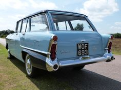 Featured Cars - Vauxhall - Victor - 1958 Vauxhall Victor F Type Estate (ref Vauxhall Motors, Station Wagon, General Motors, Car Photos, Sd, Cool Cars, Britain, Classic Cars, Automobile