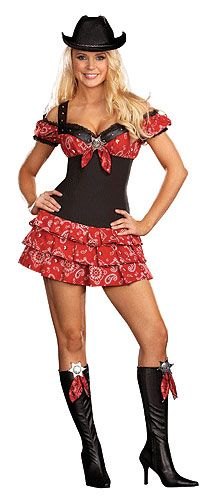 Cowgirl Cutie Dress u0026 Gun Fighter Cowboy Adult Couples Set #Halloween # Costumes #Couples | Costumes for Couples | Pinterest | Halloween costumes ...  sc 1 st  Pinterest & Cowgirl Cutie Dress u0026 Gun Fighter Cowboy Adult Couples Set ...