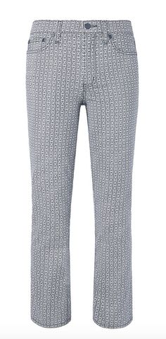 Tory Burch Cropped Straight Leg Jean