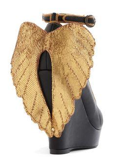 Add wings -- Perhaps shoe clip