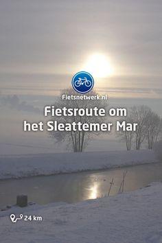 🚲 Fietsroute om het Sleattemer Mar #Friesland #Fietsroutes #Fietsen #Gezond #Natuur