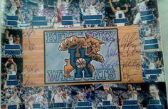 Kentucky Wildcats Men's basketball 2013-14 Team Autographed 16x20 Photo