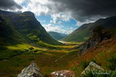 Glen Coe Lost Valley (hike - 2.5m, 3hrs) 35 mins from Fort William (2 hrs from Inverness)