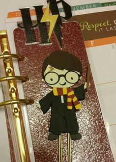 The Boy Who Lived Paperclip/Bookmark / Wizard /HP (4.00 USD) by StickEWicketDesigns