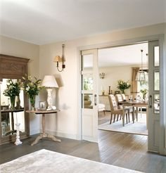 french glass pocket doors! | home decor and details | pinterest