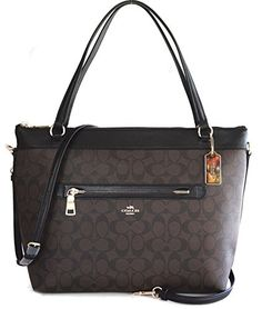 568fe19e98 Amazon.com  Coach Pebbled Leather Tyler Tote in Black -  F54687  Shoes