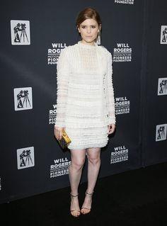Pin for Later: Best Dressed: Die schönsten Looks der ganzen Woche Kate Mara in Valentino Die britische Schauspielerin erschien zur CinemaCon in Las Vegas in einem romantisch-verträumten Look von Valentino.