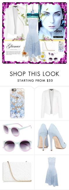 """""""Untitled #150"""" by kate-reads on Polyvore featuring Casetify, Topshop, Tildon, Dee Keller, Anya Hindmarch, Whistles and MANU"""
