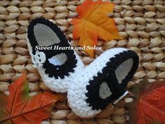 Got a little Pirate this Halloween?  These handmade crochet cotton Baby Mary Janes Shoes make a perfect accessory!    Please visit my Etsy shop at www.etsy.com/shop/sweetheartsandsoles to see more of my baby & toddler accessories!