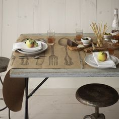 Paper Placemats, Runners And Other Pretty Kitchen Things   Kitchen Papers    Nashville, Tennessee   [kitchen U0026 Dining] American Made Home   Pinterest ...