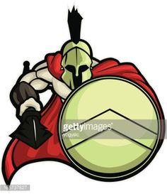 Resultado de imagen de spartan mascot logo