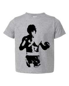 Rocky Balboa Inspired Silhouette  by NorthwindThreads on Etsy, $12.99