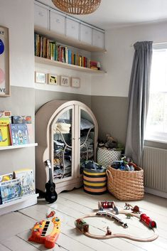 A 5 Year Old's Bedroom In London – Someday Studio Box Room Nursery, Room Ideas Bedroom, Boys Room Decor, Bedroom Colors, 5 Year Old Boys Bedroom, Boy Toddler Bedroom, Kids Bedroom, Old Room, Girl Bedroom Designs