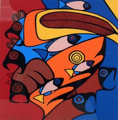 Red Chief Feather by artist   John Laford