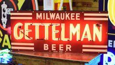Gettleman's Neon Beer Sign