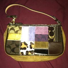 Coach Multi Material Bag.