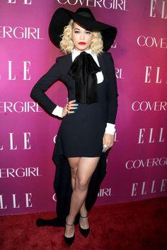 Rita Ora attending the 4th Annual ELLE Women in Music Celebration at The Edison Ballroom in New York - April 10, 2013 - Photo: Runway Manhattan/ZUMA Press