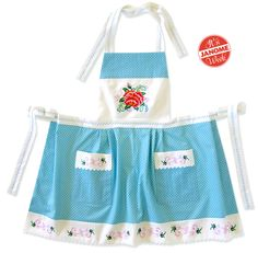 Janome Week: The Everything Apron: Embroidery, Decorative Stitching and Quilting | Sew4Home