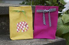 Zaaberry: Fabric Gift Bag - TUTORIAL