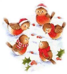 tube de noel Plus Christmas Bird, Christmas Scenes, Christmas Clipart, Christmas Animals, Christmas Printables, Christmas Pictures, Winter Christmas, Christmas Crafts, Christmas Ornaments