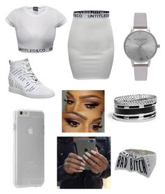 """❤"" by fashion-1407 ❤ liked on Polyvore featuring NIKE, Olivia Burton, GUESS and Case-Mate"