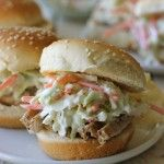 Permalink to: Raspberry Balsamic Glaze Pork Sliders with Coleslaw