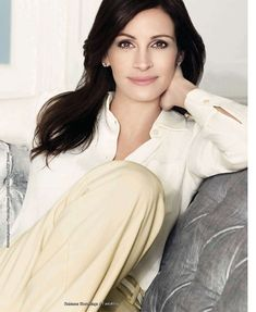 julia roberts.  it's a pleasure to have such beautiful, strong women represent lancome.