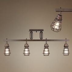 Pro Track® Bendlin Industrial Bronze Track Fixture - Home Decorations Ideas Diy Light Fixtures, Track Lighting Fixtures, Pipe Lighting, Industrial Track Lighting, Farmhouse Track Lighting, Video Vintage, Kitchen Remodel Cost, Bath Remodel, Thing 1
