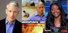 ANDERSON COOPER - Anderson Cooper is out of the closet.  For the fans of Anderson, everyone must read his autobiography: Dispatches from the edge.   A great book about journalism and also about life.  Bernard Bujold from LeStudio1.com said that he had dream all night about Anderson's co-host Isha Sesay.  In his dream, she was accepting to go on vacation with him...  http://www.lestudio1.com/Blogues
