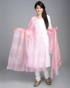 Silk Matka Woven Textured Dupatta