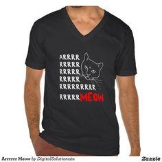 Arrrrrr Meow T Shirts
