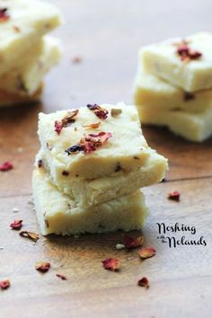 Lemon Persian Rose Shortbread by Noshing With The Nolands www.tablescapesby... www.facebook.com/...