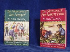 Vintage Mark Twain Books by OurSpecialFind on