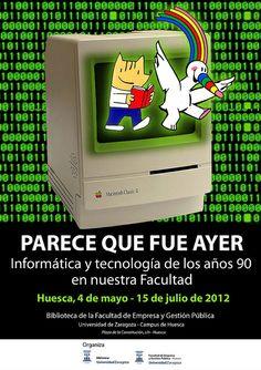 Parece Que Fue Ayer Informática Y Tecnología De Los Años 90 En Nuestra Facultad Nostalgia Childhood Once Upon A Time