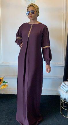 Long African Dresses, Latest African Fashion Dresses, African Print Dresses, African Print Fashion, Abaya Fashion, Muslim Fashion, Ankara Gown Styles, African Traditional Dresses, African Attire
