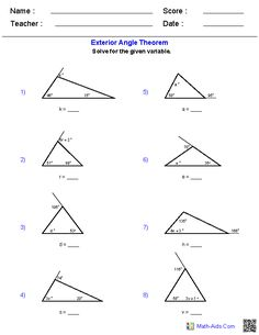 Area And Perimeter Of Triangles Worksheets Amanda Bye