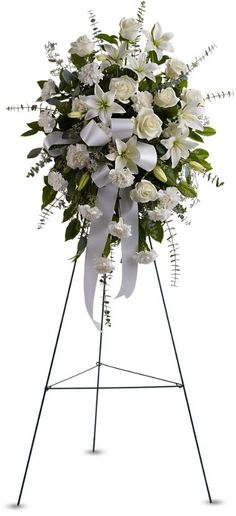 Order Sentiments of Serenity Spray flower arrangements from All Flowered Up Too, your local Lubbock, TX florist. Send Sentiments of Serenity Spray floral arrangement throughout Lubbock and surrounding areas. Casket Flowers, Altar Flowers, Church Flowers, Funeral Flowers, Condolence Flowers, Sympathy Flowers, Funeral Floral Arrangements, Flower Arrangements, Funeral Caskets
