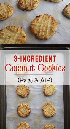 coconut cookies – Paleo, grain-free, sugar-free, gluten-free, dairy… – Famous Last Words Dairy Free Recipes, Paleo Recipes, Whole Food Recipes, Cooking Recipes, Coconut Sugar Recipes, Coconut Unsweetened Recipes, Coconut Powder Recipes, Anti Candida Recipes, Whole Food Desserts