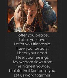 """""""I offer.............."""
