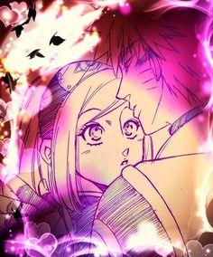 Younger Naruto hug Sakura /NaruSaku Shippuden