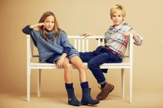 Massimo Dutti - Boys  Girls Collection. Fall Winter 2013 - December Lookbook