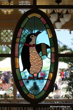 Mary Poppins inspired window from the Jolly Holiday cafe in Disneyland....