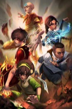 Team Avatar by SushiyamaArt.deviantart.com on @DeviantArt