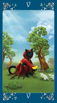 Black Cats Tarot - The Heirophant
