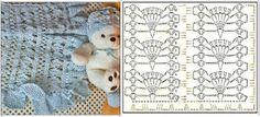Hobby lavori femminili - ricamo - uncinetto - maglia: copriletto