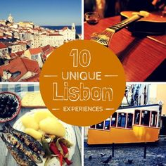 Amazing 10 Unique Lisbon Experiences You Must Try Right Now! If you're planning to visit Lisbon this is a must read guide. Here you can find 10 unique what to do things in Lisbon. Where to listen the traditional Fado music, amazing Lisbon viewpoints, relax watching the Lisbon sunset at a trandy terrace, original Lisbon city tours and much more... Find all 10 Unique Lisbon Experiences here: www.casteloapartm...