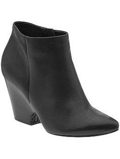 Not the prettiest bootie, but has rubber grips to keep me from falling on ice! Kenneth Cole Reaction Cheese Please | Piperlime