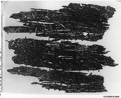 Textile Fragment, Swiss.  Undated.  Metropolitan Museum of Art.