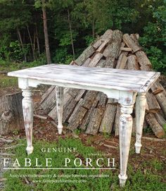 Country & Cottage Farmhouse Dining Tables - beach-style - Indoor Pub And Bistro Tables - Other Metro - Fable Porch